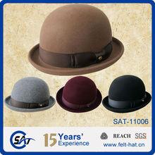 Wool Felt Roll Up Hats in beautiful colors