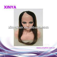New Fashion Wig 100% human hair No shedding u part wigs for sale
