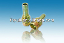 Hydraulic hose crimping fittings