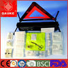 CE FDA auto first aid kit triangle warning reflecting vest