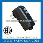 HAIR DRYER GFCI ELECTRICAL RECEPTACLE