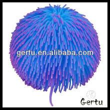 inflatable flashing long hair puffer ball
