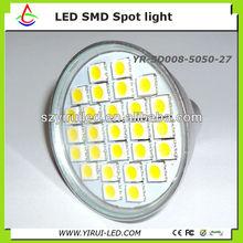 led lights ice cubes light 5w smd5050 27leds AC100-240V gu10
