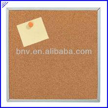Cheap square shaped cork in board squares,cork memo coard
