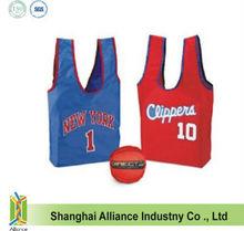 Basketball / Football shape foldable tote bag
