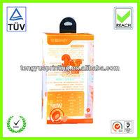 pp nursing bottle packaging box/plastic boxes for small baby bottles