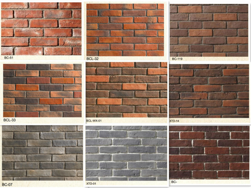 artificial decorate faux brick for exterior decor