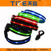 pet product rechargeable usb pet collar printed pet collar TZ-PET6100U