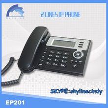 EP 201 VOIP SIP phone/voip phone adapter skype