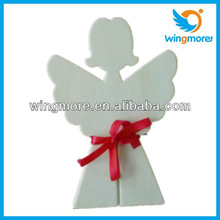 Wooden Christmas tree decoration Angel WD003