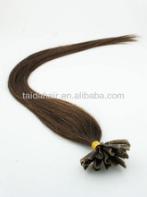 100% remy fusion hair extensions U/V/I /flat tip hair
