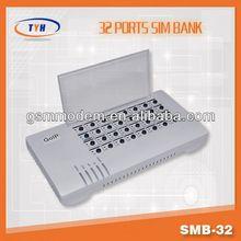 32 port SIM serverFor GSM Voip gateway /gevey sim