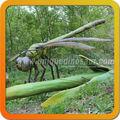 Tamaño grande dinosaurios animatronic libélula modelo