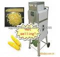 Máquina trilladora y desgranadora de maíz fresco