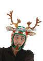 correndo rena capacete chapéu natal adultos traje acessório