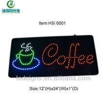 Advertising flashing wholesale LED board sign