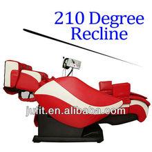Inversion Recline Super Zero Gravity TRUE 3D Massage Chair with Heating, DVD, MP3, Speaker, VFD Panel, Neck Waist Airbags