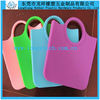 silicone shopping bag,foldable shopping bags,ladies silicone bag