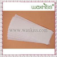 wash cloth waxing strips, cotton fabric