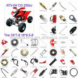 ATV Spare Parts Moped Parts Motorcycle Parts ATV CG/CB/CG/GY6 50/70/90/110/125/200/250cc available ATV-04 CG 250cc