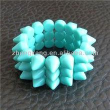 calendar 2013 fashion acrylic stud rivet beads bracelet vners
