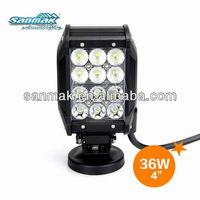 SM6031-36 High Quality!!! 36W Car Truck Boat 4WD 4X4 ATV 12v led boat lights