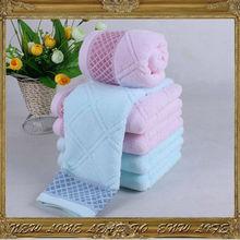 Cotton bath towels with custom logo luxury gift towel set