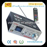 digital amplifier hearing enhancement system YT-368A with LCD display&usb/sd/fm