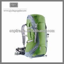 Solar vintage canvas 100L waterproof hiking backpack