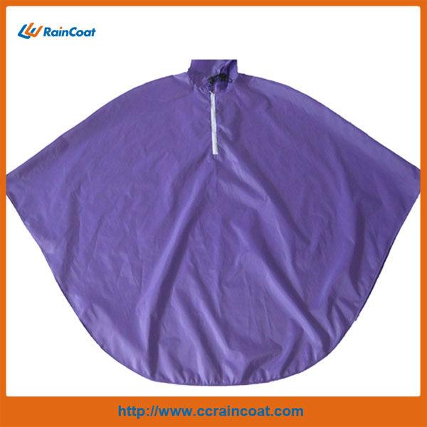 100% polyester bicycle rain poncho