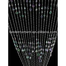 Large Teardrop Diamond Beaded Curtain
