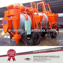 Portable Bitumen Hot Mixing Equipment SLJ-16
