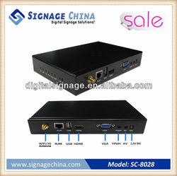 1080p Full HD android 2.3 1080p internet tv box/hd media player/