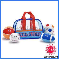 Hot selling sport ball pvc tote bag