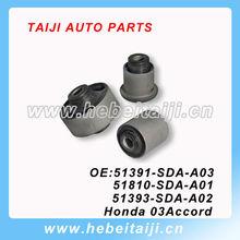 Brazo inferior de goma Bush para Honda Accord 51391-SDA-A03 51393-SDA-A02 51810-SDA-A01