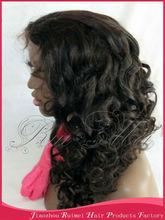 Top High Quality Customize 100% human hair fall wigs