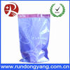 Customized resealable plastic bags for underwear with zipper