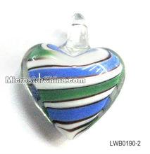 Heart Murano Glass Pendant
