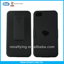 cellphone case factory in guanghzou for blackberry z10 holster combo