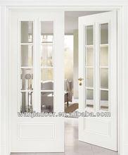 Wanjia company interior french swinging door