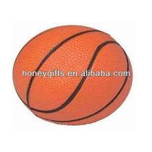 Promotional basketball stress ball/Wholesale Anti Stress Smiley Ball/Wholesale cat stress ball