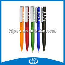 Multi Color Spiral Plastic Ballpoint Pen, Ballpoint Cheap Pen For Promotion