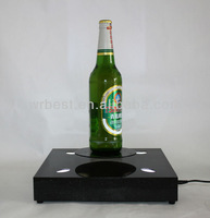 2013 Best Business Gift/ Advertising Display Racks &Innovative Maglev Spin LED Display for Beer Bottle (0-2000g) W-6060D