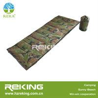 Military camo envelope sleeping bag