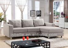 LA-3578 Popular simple l sofas design