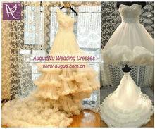 AWL3200 Luxurious Fairy Ruffles Bridal Wedding Dress 2013