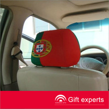 Hot Selling football team car seat headrest covers