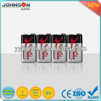 9V zinc carbon battery 6F22 dry battery charger