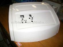 Customized vacuum formed plastic equipment cover