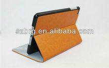 Leather Folio for iPad Mini Case ,For mini ipad apple cover